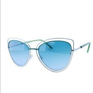 Double Metal Frame Sunglasses